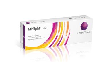 Vi præsenterer MiSight(R) endagskontaktlinser med ActivControl(R)-teknologi